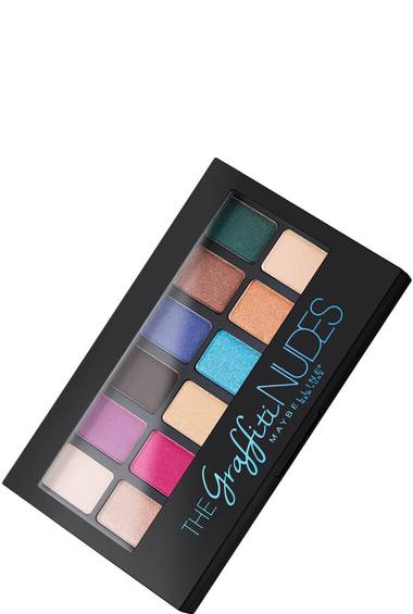Produktabbildung The Graffiti Nudes Lidschatten Palette von Maybelline New York